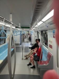 Singapore MRT Car