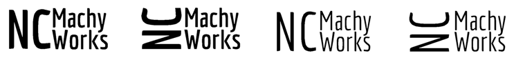 NCMachyWorks Logos